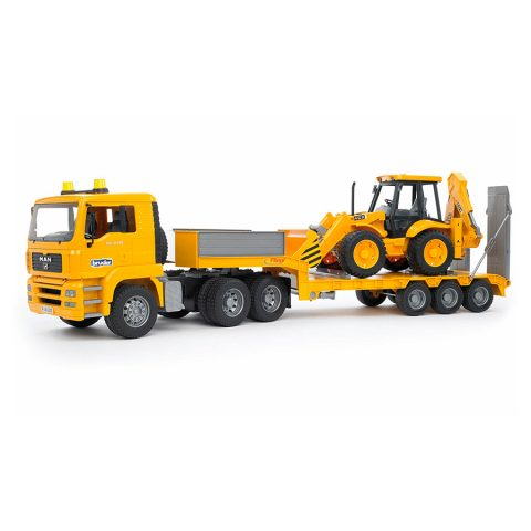 Camión  Man Con Plataforma Y Maquina JCB –  Ref. 2776