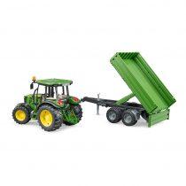 Tractor De Juguete John Deere 5115m Con Remolque – Ref. 2108