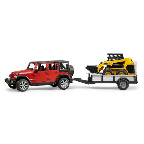 Todoterreno Jeep Wrangler Y Minicargadora CAT- Ref. 2925