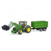 Tractor John Deere 7930 Con Pala Y Remolque – Ref. 3055