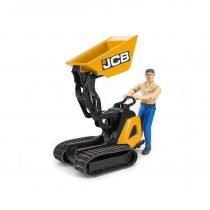 Mini Dumper JCB 8010 HTD  Con Trabajador – Ref. 62004
