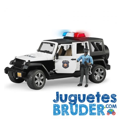 JEEP WRANGLER RUBICON DE POLICIA REF. 2527