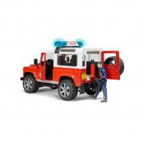 Land Rover Defender De Bomberos Ref. 2596