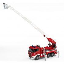 Camión Scania de Bomberos Con Escalera y Bomba de Agua- Ref. 3590