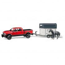 Todoterreno RAM 2500 Power Wagon Con Remolque De Caballos – Ref. 2501