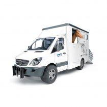 Furgoneta Mercedes Benz Transporte De Caballos – Ref. 2533