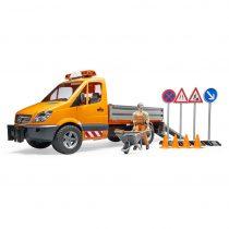Camion Mercedes Benz De Obras Construccion Juguete Bruder – Ref. 2537