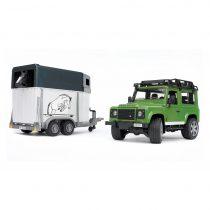 Todoterreno Land Rover Defender Con Remolque De Caballos – Ref. 2592