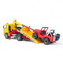 Camión Grúa Con Vehículo Todoterreno MAN – Ref. 2750