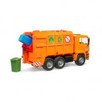 Camión De Basura Naranja MAN – Ref. 2760