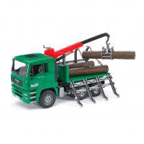 Camión Forestal Con Carga De Grua MAN Juguete Bruder – Ref. 2769