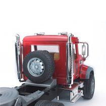 Camión Mack Con Plataforma Y JCB Juguete Bruder – Ref. 2813