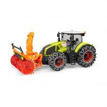 Tractor Claas Axion 950 Con Quitanieves Juguete Bruder – Ref. 3017