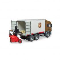 Camión Scania De Transporte + Carretilla Elevadora – Ref. 3581