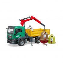 Camión Grúa MAN De Reciclaje Juguete Bruder – Ref. 3753