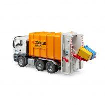 Camión MAN De Basura Carga Trasera – Ref. 3762