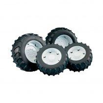 Pack De 4 Unidades De Ruedas Tractor Bruder – Serie 3000 – Ref. 3311