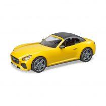 Coche Roadster Descapotable Biplaza Amarillo – Ref. 3480