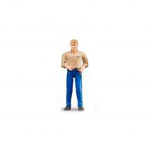 Figura Hombre Granjero Bruder Bworld – Ref. 60006