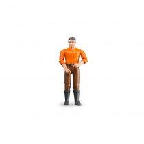 Figura Hombre Granjero Bruder BWorld – Ref. 60007