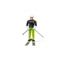 Figura De Esquiador Con Accesorios Bruder Bworld – Ref. 60040