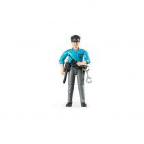 Figura Hombre Policía Con Accesorios Bruder Bworld – Ref. 60050