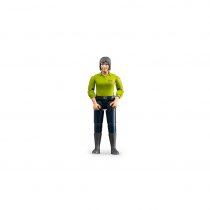 Figura Mujer Granjera Bruder Bworld – Ref. 60405