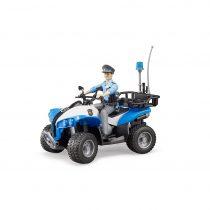 Quad Policía Con Conductor Juguete Bruder – Ref. 63010