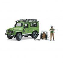 Land Rover Todoterreno Con Figura Guardabosques y Perro – Ref. 2587