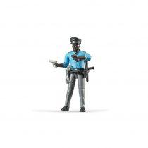 Figura Hombre Policía Bruder Bworld – Ref. 60051