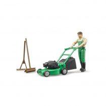 Jardinero Con Equipo De Jardinería Bruder BWorld – Ref. 62103
