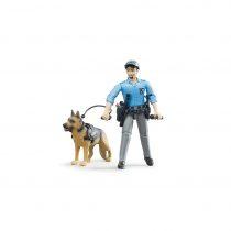 Oficial De Policía Con Perro Bruder Bworld – Ref. 62150