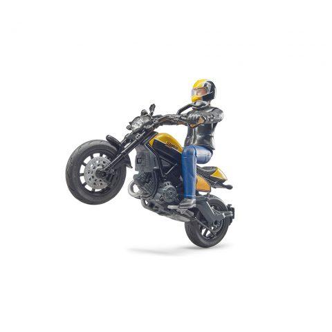 Moto Ducati Scrambler Con Conductor Bruder Bworld – Ref. 63053