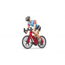 Ciclista Con Bicicleta De Carrera Y Casco Bruder Bworld – Ref. 63110