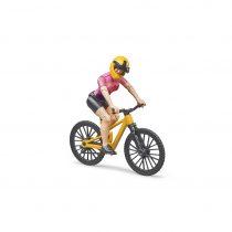 Ciclista Con Bicicleta De Montaña Bruder Bworld – Ref. 63111