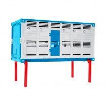 Plataforma Intercambiable Azul para Camión de Ganado – Ref. 43554