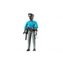 Figura Mujer Policía Color Bruder BWorld – Ref. 60431