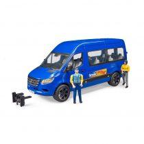 Microbús Mercedes Benz con Figuras Bruder BWorld - Ref. 2670